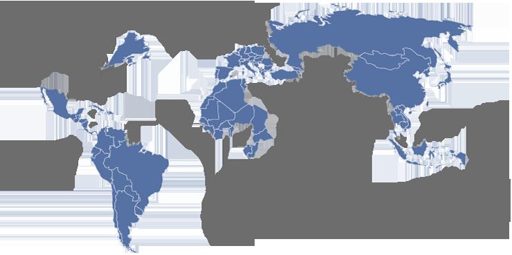 Mappa notai nel mondo